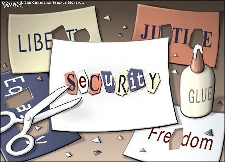 La seguridad como precio de la libertad