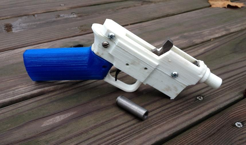 The End of 3D printed weapons?
