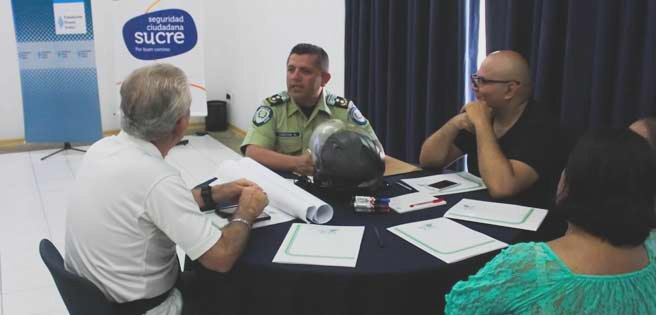Alcaldía de Sucre traza estrategias de seguridad con vecinos