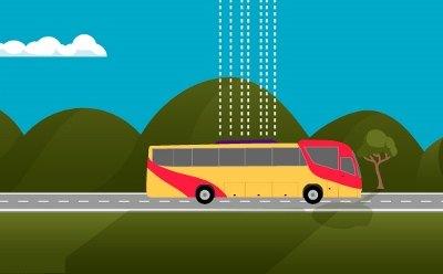 Medidas de seguridad en el transporte público