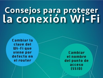 Consejos para proteger la conexión Wi-Fi
