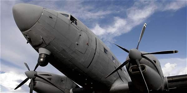 Colombia usará avión fantasma para apoyar la seguridad ciudadana