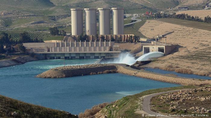 El agua, un arma en manos del Estado Islámico