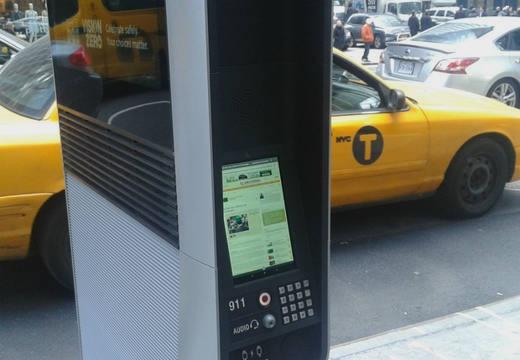 Nueva York activa internet y telefonía fija pública gratis