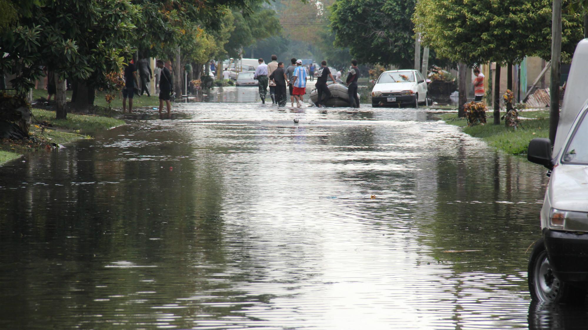Cómo actuar en una inundación