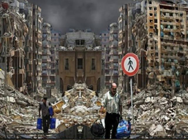 Bombardeo en Beirut