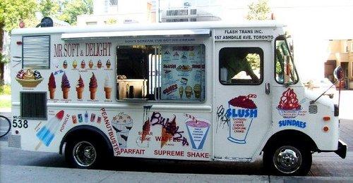 Secuestro de niños con camión de helado