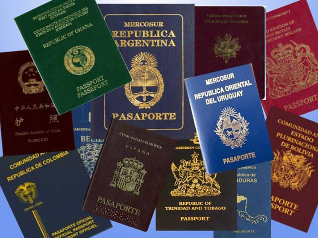 Pasaporte islas galapagos, pasaporte, pasaportes países, pasaporte argentina, pasaporte uruguay, pasaporte colombia