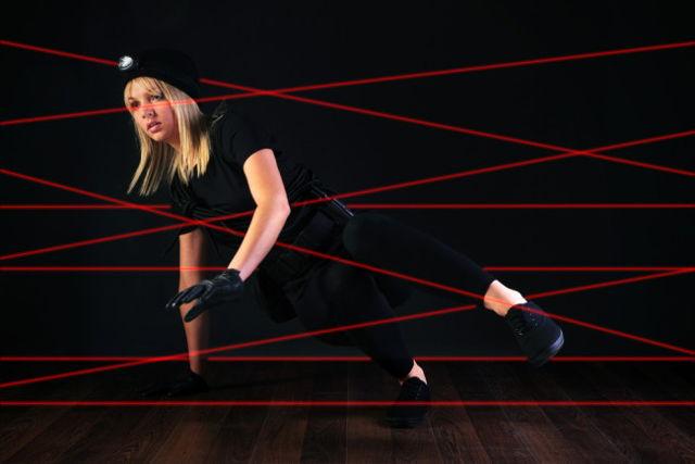 Los detector laseres y la seguridad