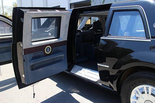 "El carro blindado ""La Bestia"" de Obama"