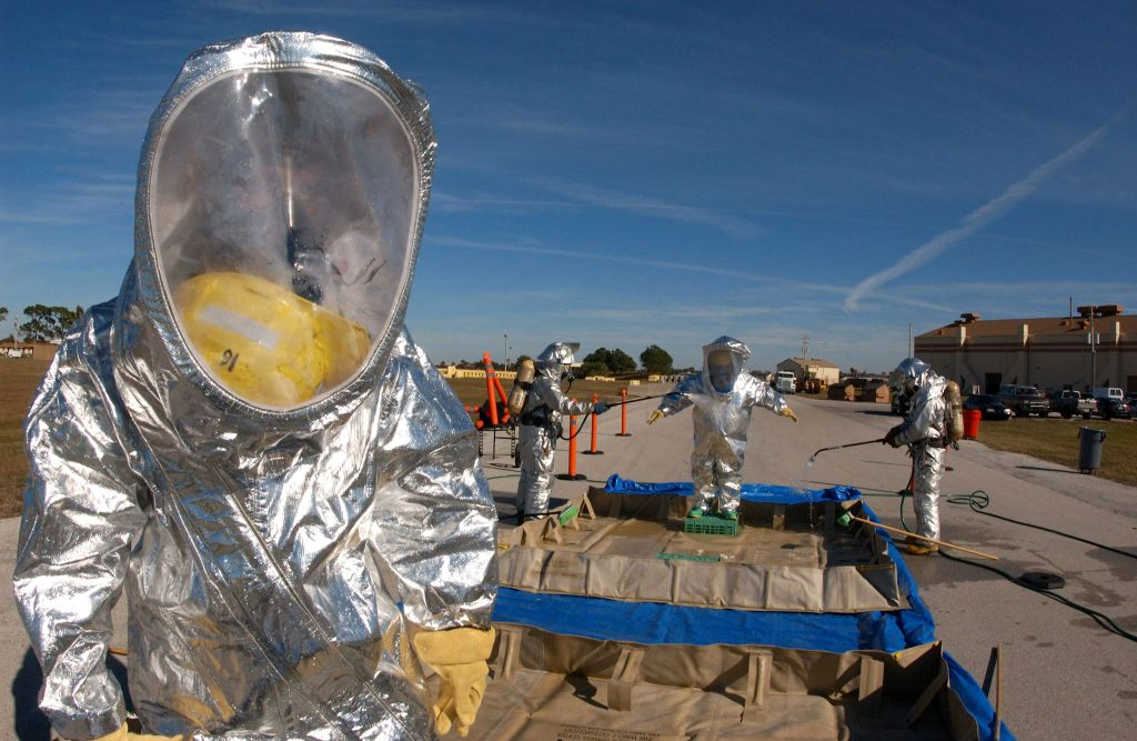 El traje NBQ (Nuclear- Bacteriológico -Químico)