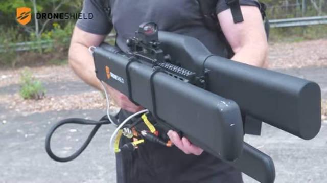 DroneGun, pistola anti-drones que los neutraliza sin dañarlos