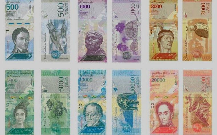 Venezuela, seguridad en nuevos billetes