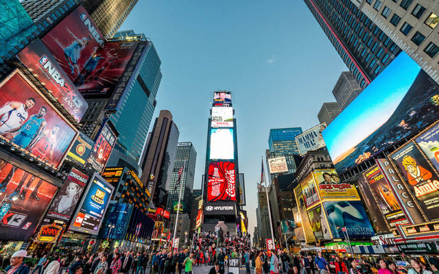 Cúales fueron las medidad de seguridad tomadas en Times Square en las fiestas decembrinas