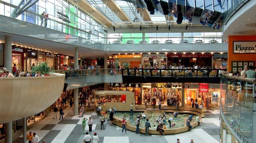 Su seguridad y los centros comerciales