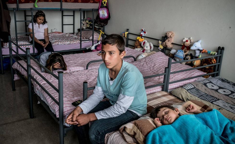 La violencia, principal causa del desarraigo infantil